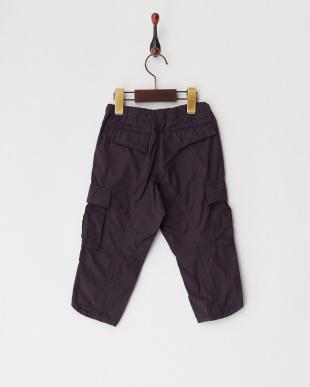 ブラック/パープル系 ブロード カーゴ パンツを見る