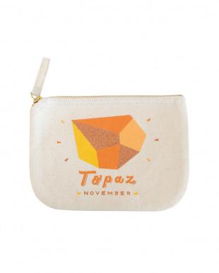 Topaz/ November バースストーンポーチ見る