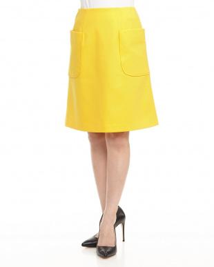 NAVY ポンチサイドポケット付スカートを見る