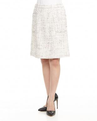 OFF WHITE Haポケ付き台形スカートを見る