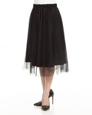 BLACK Haチュールフレアスカートを見る