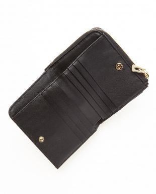 ブラック クロコLF札入れ財布見る