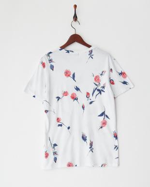 ローズ ローズプリントTシャツを見る