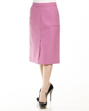 ピンク TCマエベンツタイトスカートを見る