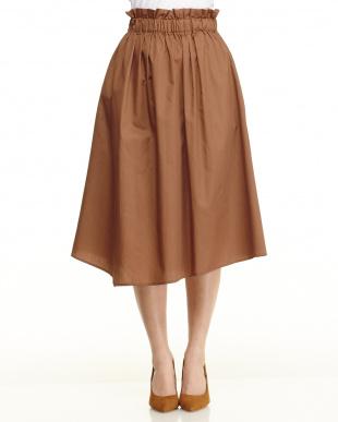 ブラウン アシメスカートを見る