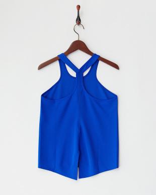 ブルー HONEYCOMB DRY タンク|WOMENを見る