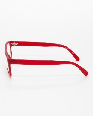 レッド スクエア型アイウェアOPH2160|UNISEXを見る