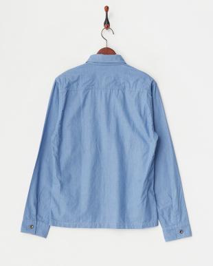LT.blue LT. ボタンダウン・フラップ・ポケットシャツ見る