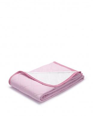 ピンク クールマジック パッドシーツ シングルを見る