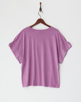 PURPLE ポイントレースTシャツを見る
