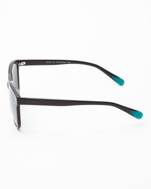 ブラック Nora ミラータイプサングラスを見る