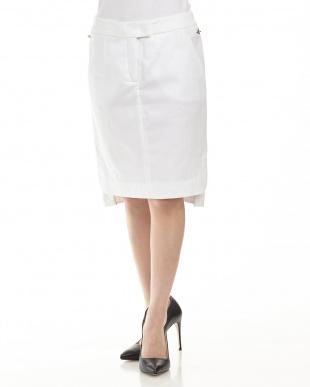 10 サイドビット ツイルタイトスカートを見る