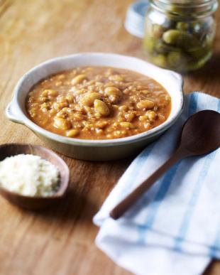 『玄米ともち麦のプチプチ食感』大豆たっぷりカレーリゾット3袋を見る