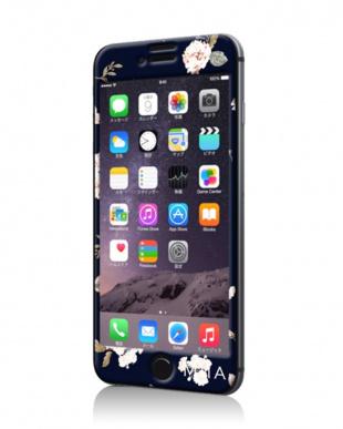 NAVY BOTANICAL FLOWER iPhoneケース見る
