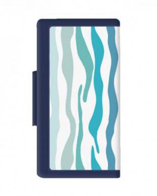 BLUE BLUE MULTI BOOKCASE LALEIA スマートフォンケース見る