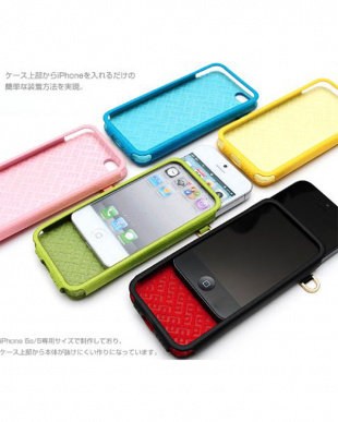 Pale Pink ITALIAN COLORFUL EDITION iPhone SE/5s/5用見る