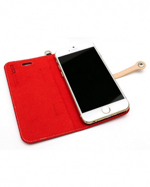 BLACK/RED RARE COMBINATION SLIM FIT EDITION iPhone 6s/6用見る