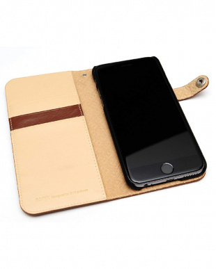BROWN LEATEHR DIARY EDITION iPhone 6s/6用見る