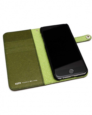 OLIVE GREEN INNOVATIVE MATERIAL EDITION iPhone 6s/6用見る