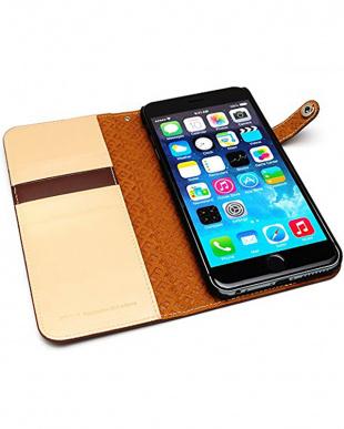 BROWN Premium calf leather diary edition iPhone 6s Plus/6 Plus用見る