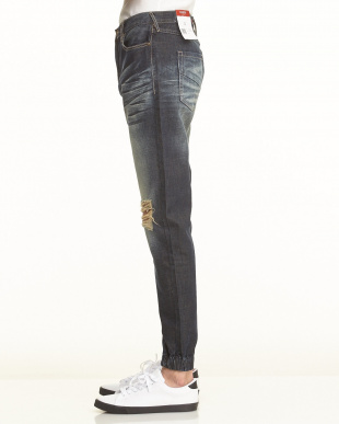 DWA SAWYER DISTRESSED ZIP JOGGER パンツを見る