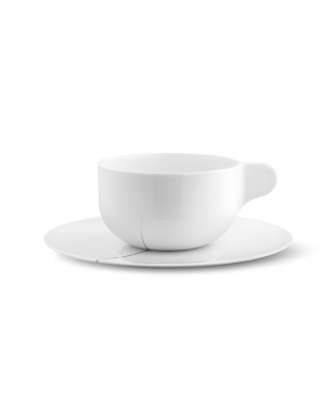 TWG CUP & SAUCER, LARGE, 2 PCS見る