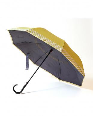 ライム×チェック 2重傘 circus(サーカス) 晴雨兼用を見る