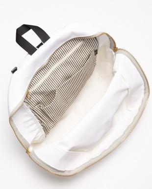 WH(ホワイト) WH(ホワイト) 日本製 コーデュラポリエステル×栃木レザーリュック/バックパック/デイパック見る