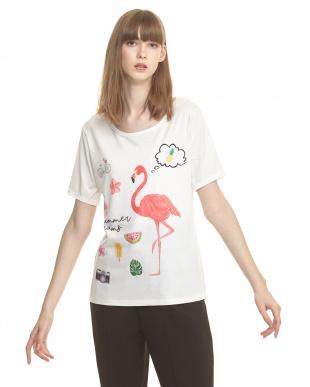 フラミンゴ Tシャツを見る
