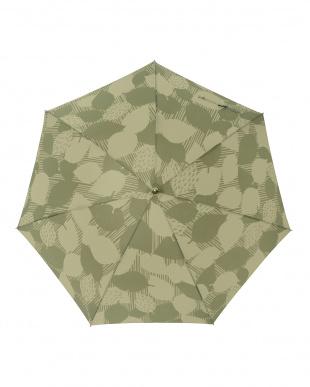 リーフバジル レジェ ワンタッチ軽量スリム傘見る