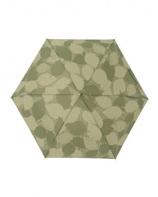 リーフバジル レジェ フラット折りたたみ傘見る