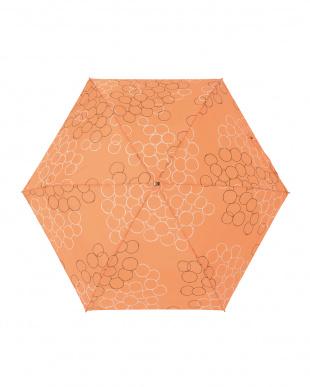 バブルオランジュ レジェ フラット折りたたみ傘見る