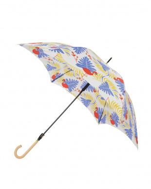 サファリ ブルー 軽量スリムジャンプ傘(デザイン)を見る