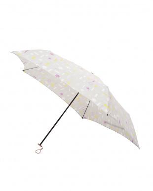 トゥインクル パールグレー 軽量折りたたみ傘(デザイン)を見る