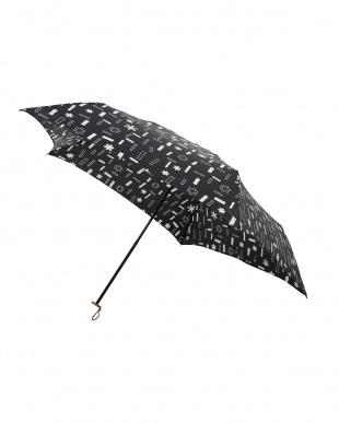 トゥインクル ノワール 軽量折りたたみ傘(デザイン)を見る