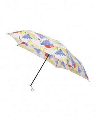 サファリ ブルー 軽量折りたたみ傘(デザイン)を見る