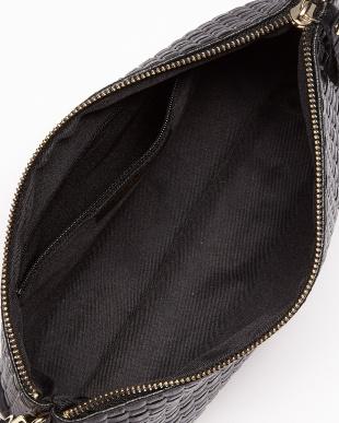 ブラック メッシュ調デザインバッグ見る