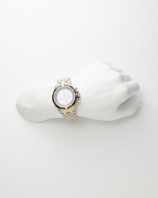 シルバー シルバー/ゴールド系 Eco-Drive 海外モデル時計│MENを見る