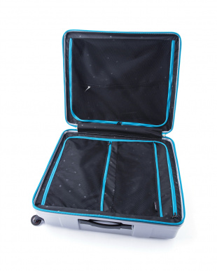シルバー メガマックス スーツケース105L見る