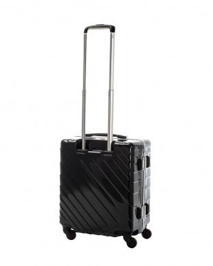 ブラック ナロースクエア S 40L スーツケース見る