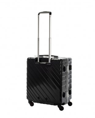 ブラック ナロースクエア M 55L スーツケース見る