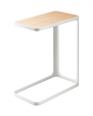 ホワイト サイドテーブル フレームを見る