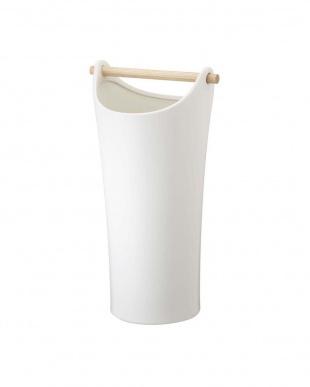 ホワイト陶器傘立て コモを見る