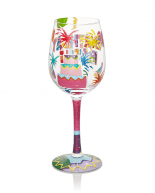 Birthday Bash ワイングラスを見る