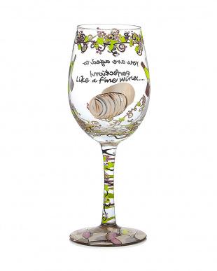 Like a Fine Wineワイングラスを見る