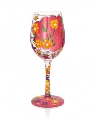 Love My Daughter ワイングラスを見る