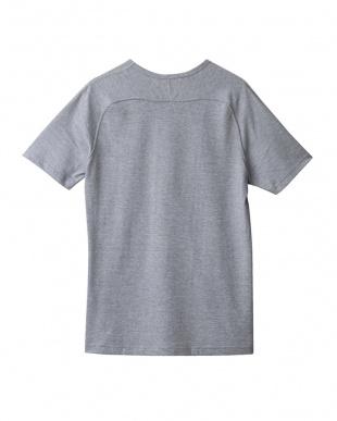 グレ-モク グレーモク フリーダムスリーブVネックTシャツ見る