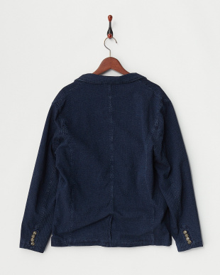 VINTAGE WASH INDIGO JACQUARD TAILORED JACKETを見る