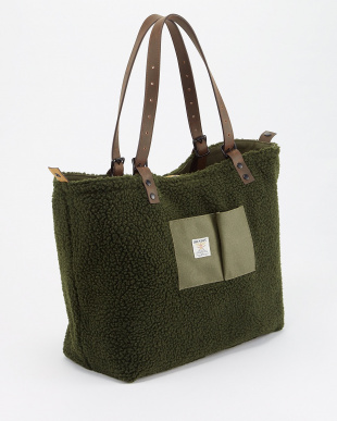 OLIVE DRAB REVERSIBLE TOTE BAG見る