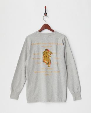 GREY スーベニア刺繍 L/S Tシャツ(虎)を見る